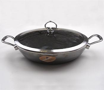 Шеф-сковорода с крышкой BAF, серия Chantal
